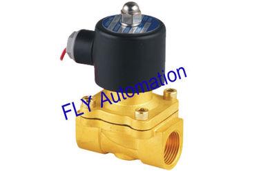 Chiny 20mm Otwór Unid 2 Way Brass wody Zawory elektromagnetyczne Wymiana 2W200-20 dostawca