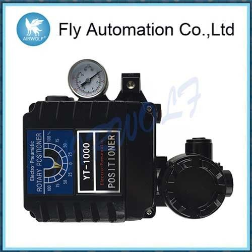 Electro-Pneumatic Positioner YT-1000R used for operation of pnuematic rotary valve actuators