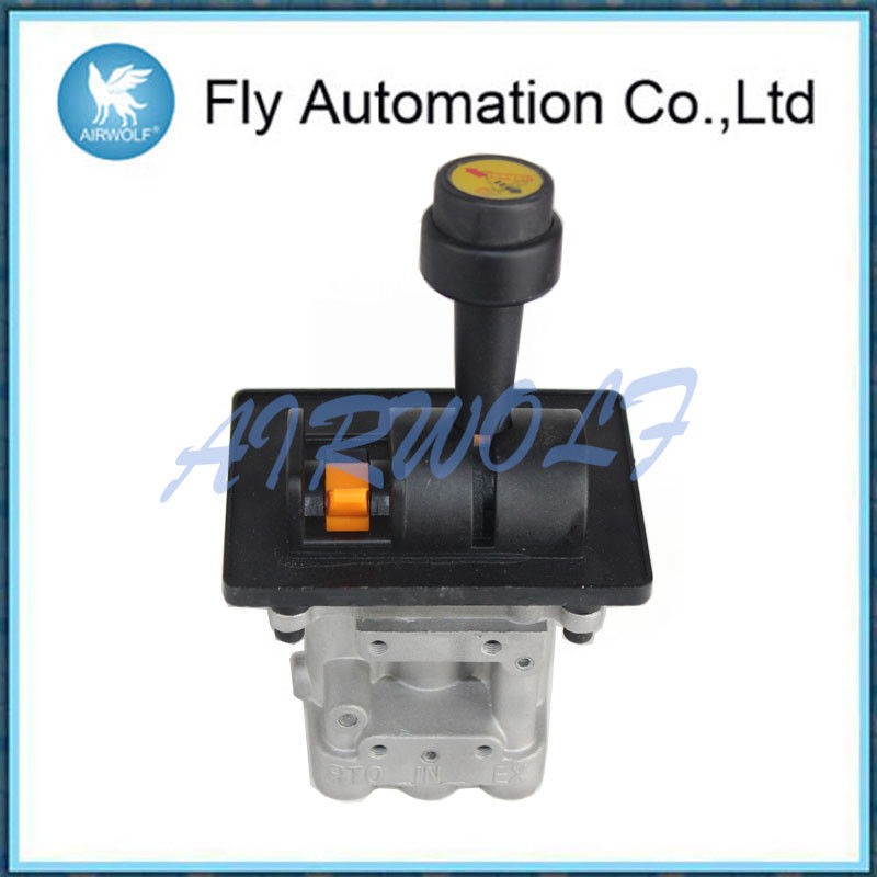 5CV-D Five Hole Dump Truck Control Valve With PTO Function Aluminum Alloy