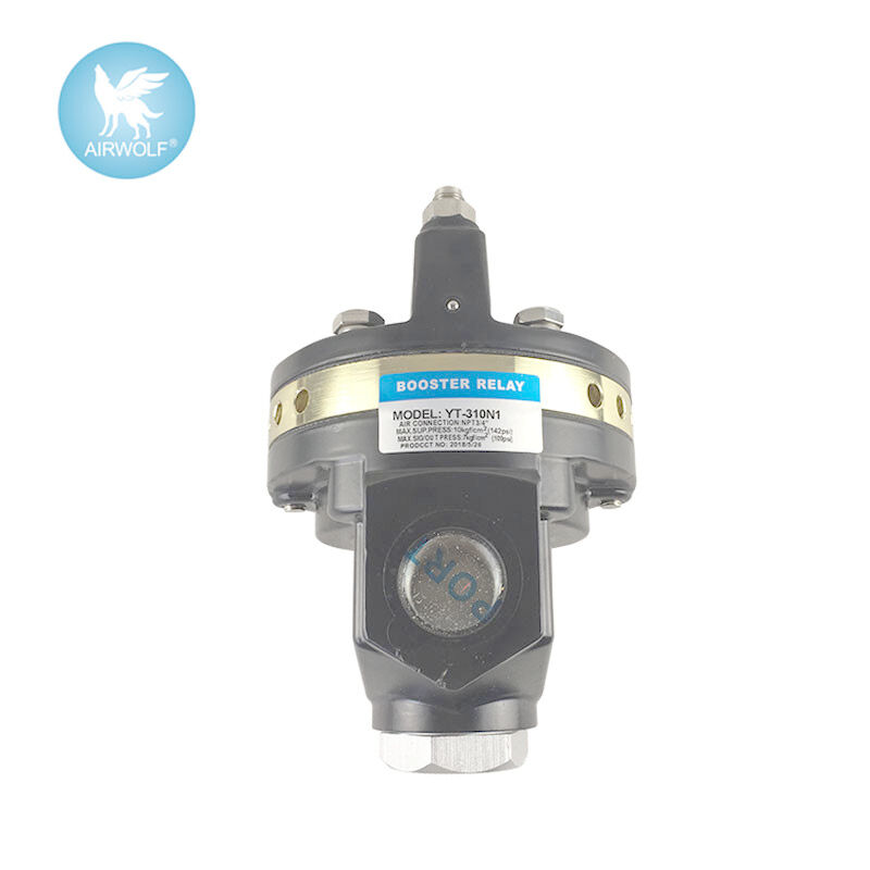 YTC Volume Booster Pneumatic Valve Actuator YT-300 YT-320 YT-310