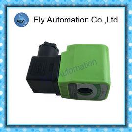 Chiny Φ13.5mm DMF Nowy typ dla zaworu impulsowego BFEC Zielony kolor Elektromagnetyczna cewka indukcyjna i klipsy dystrybutor